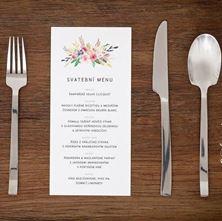 Picture of Wedding menu - Circle