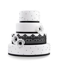 Picture of Wedding cake Black & White